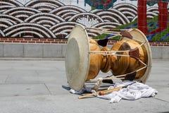 Tambor tradicional imagen de archivo