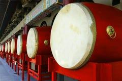 Tambor tradicional en torre del tambor foto de archivo