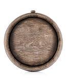 Tambor velho de madeira do carvalho fotos de stock