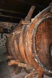 Tambor velho do vinho Fotografia de Stock