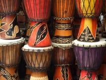 Tambores africanos Fotografía de archivo libre de regalías