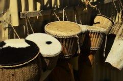 Tambores africanos Foto de archivo