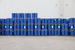 Tambores azuis Imagem de Stock Royalty Free