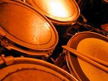 Tambores calientes Imagenes de archivo