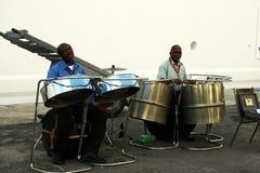 Tambores de acero foto de archivo
