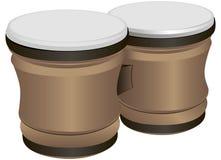 Tambores de bongo Fotos de archivo