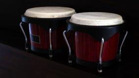 Tambores de bongo Fotos de archivo libres de regalías