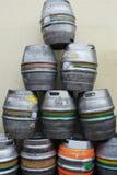 Tambores de cerveja Imagens de Stock
