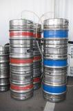 Tambores de cerveja Imagem de Stock