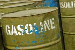 Tambores de la gasolina Foto de archivo