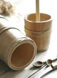 Tambores de madeira Imagens de Stock