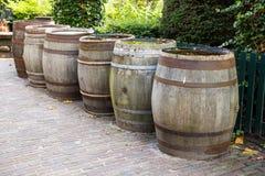 Tambores de madeira velhos foto de stock royalty free