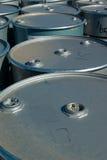 Tambores de plata Fotografía de archivo