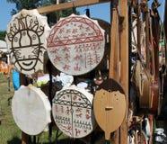 Tambores de Shamanic Foto de archivo libre de regalías