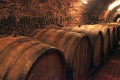 Tambores de vinho Foto de Stock