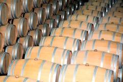 Tambores de vinho 4 Foto de Stock