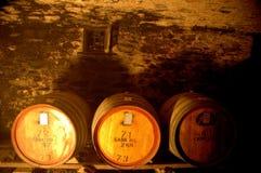 Tambores de vinho Imagens de Stock Royalty Free