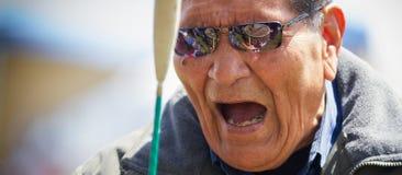 Tambores del día de Chumash Fotografía de archivo libre de regalías