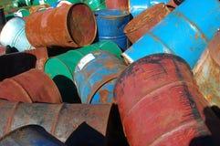 Tambores desechados Fotografía de archivo
