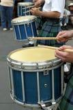 Tambores en el desfile del St Patrick Imagenes de archivo