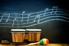 Tambores y ritmo Fotos de archivo libres de regalías