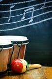 Tambores y ritmo Imagen de archivo libre de regalías