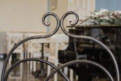 Tamborete de bronze do vintage foto de stock royalty free