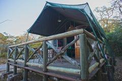 Στρατόπεδο Tamboti σκηνών σαφάρι Στοκ φωτογραφία με δικαίωμα ελεύθερης χρήσης