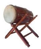 Tambour asiatique antique traditionnel Image libre de droits