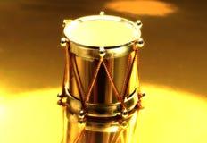 Tambour d'or photographie stock libre de droits