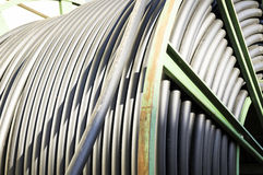 Tambour de câble Images stock