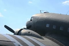 Tambour de chalut de C-47 Photographie stock