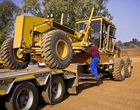 Tambour de chalut du tracteur à chenilles 140H Photo libre de droits