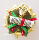 Tambour de Noël Image libre de droits