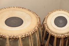 Tambour de Tabla, la percussion du sous continent indien photos libres de droits