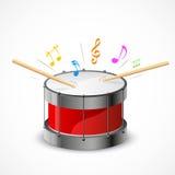 Tambour musical illustration libre de droits