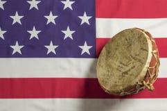 Tambour traditionnel de Djembe image libre de droits