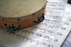 Tambourine.  royalty free stock photo
