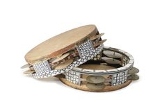 Tambourine Imagem de Stock Royalty Free