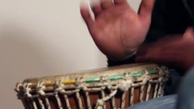 Tambourine stock footage