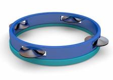 Tambourine - 3D Stock Image
