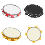 Tambourine icon Royalty Free Stock Images