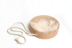 Tambourine mit Seil Stockbild