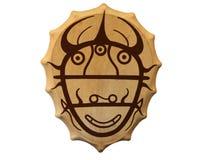 Tambourine of the shaman Stock Photo