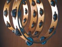Tambourines Stock Photo