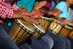 Tambours africains Photos stock