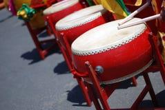 Tambours chinois Photographie stock libre de droits