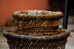 Tambours de bois Images stock