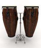 Tambours de Conga Photo libre de droits