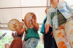 Tambours de Shamanic Photo stock